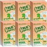 True Grapefruit Crystallized Fruit Wedge 32 Ct (Pack of 6)