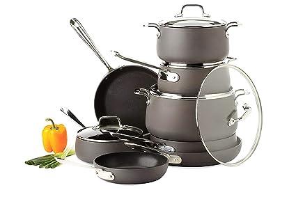 Amazon Com Cookware Set Best Pots And Pans Aluminum Induction