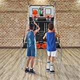PEXMOR Foldable Basketball Arcade Game w/ 4