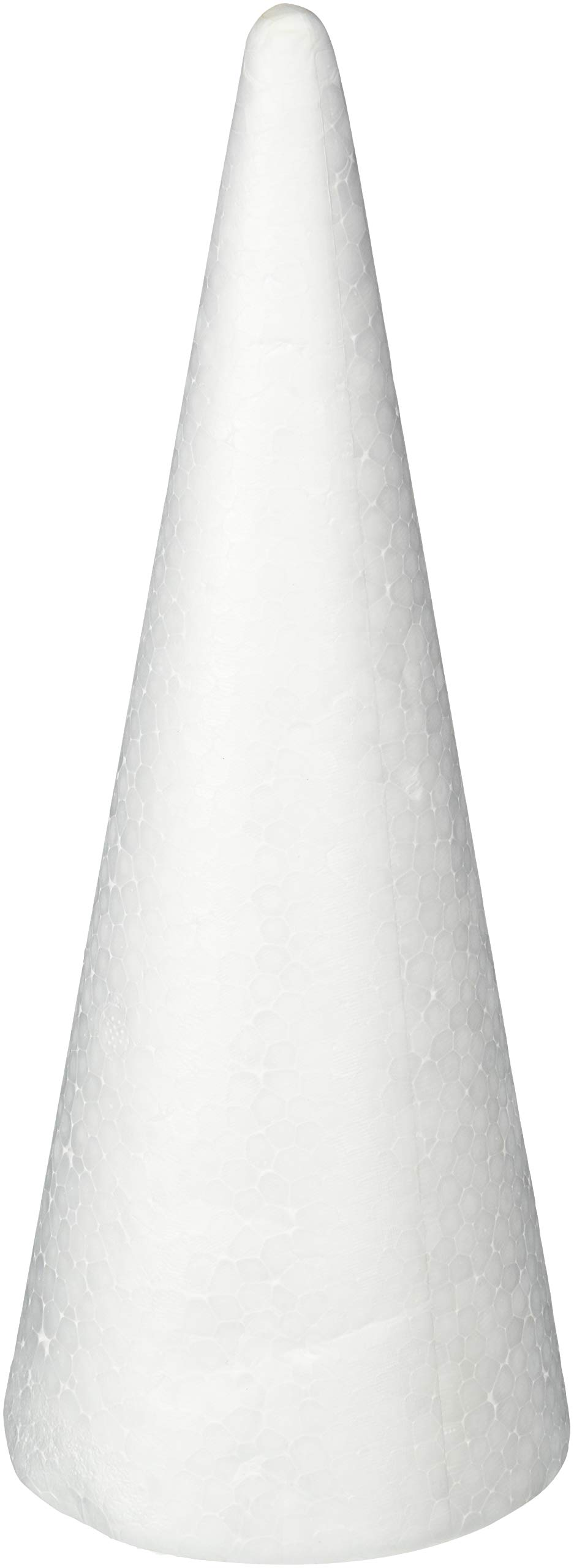 Darice Durafoam Cone White 9.85 inches (6-Pack) 01260P
