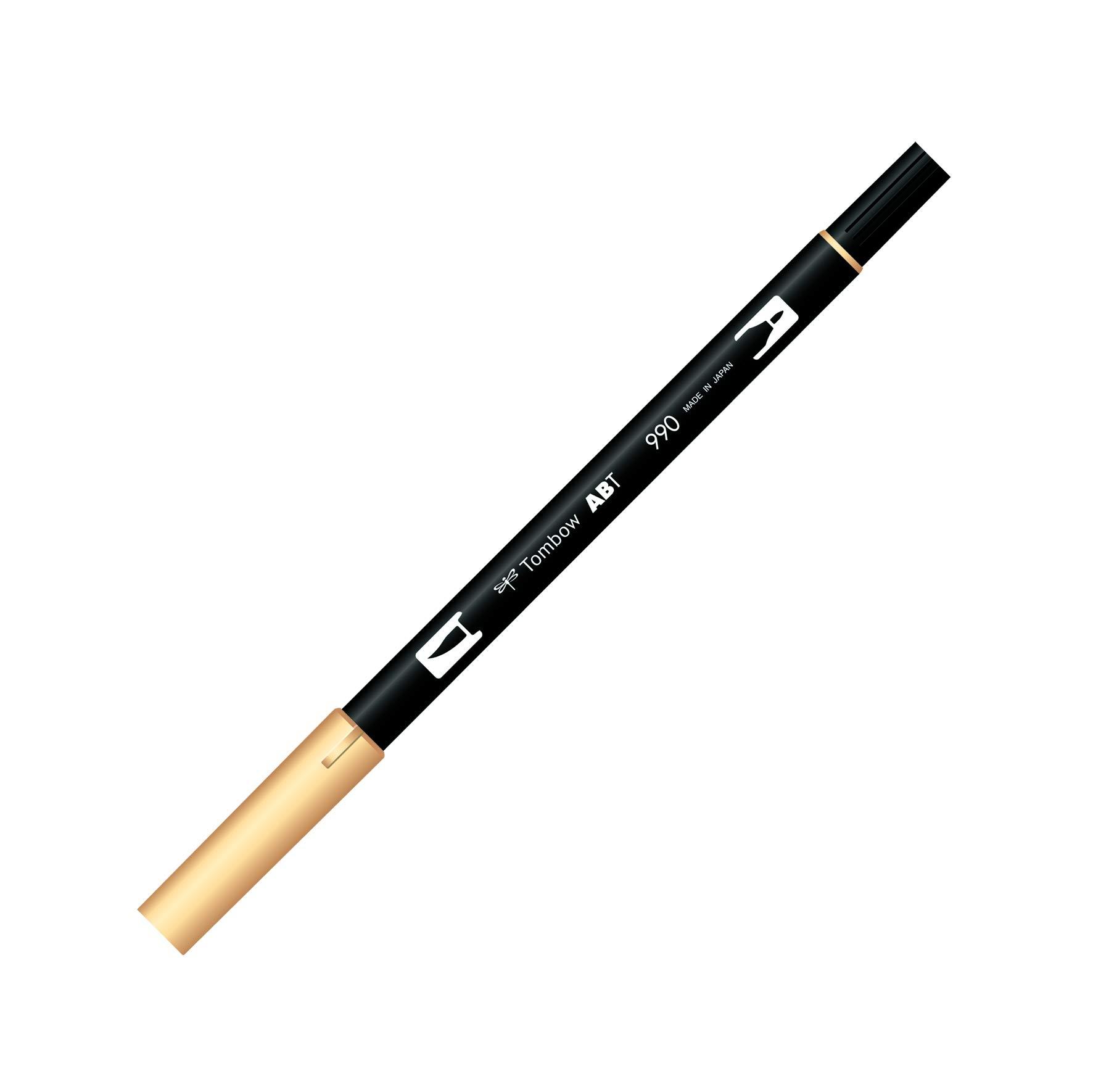 Tombow ABT 990 Dual Brush Pen - Light Sand