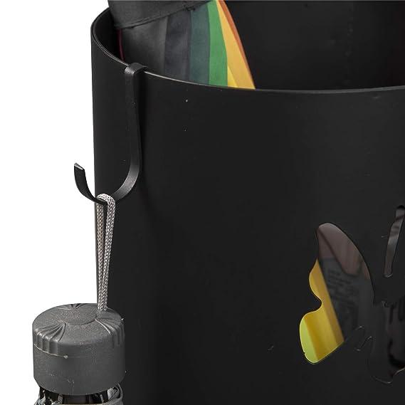Schirmständer Regenschirmständer Regenschirmhalter Metallständer49cm weiß LUC23W