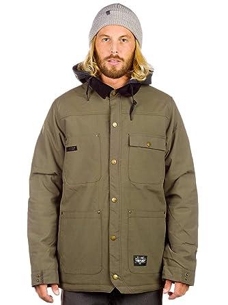 L1 Outerwear Folsom Military Chaquetas Snowboard, Hombre, Verde, M: Amazon.es: Deportes y aire libre