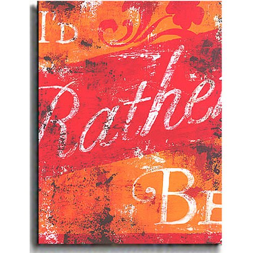 I'd Rather Be by Rodney White Premium Stretched Canvas Art (Ready to Hang)