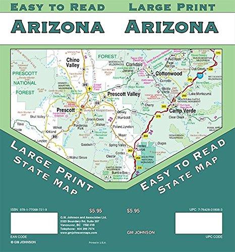 Arizona State Map (Arizona State Map)