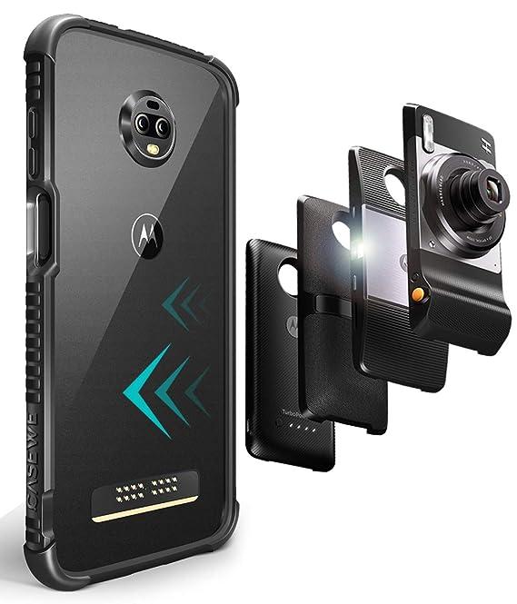Amazon.com: CaseWe - Carcasa flexible de TPU para Motorola ...