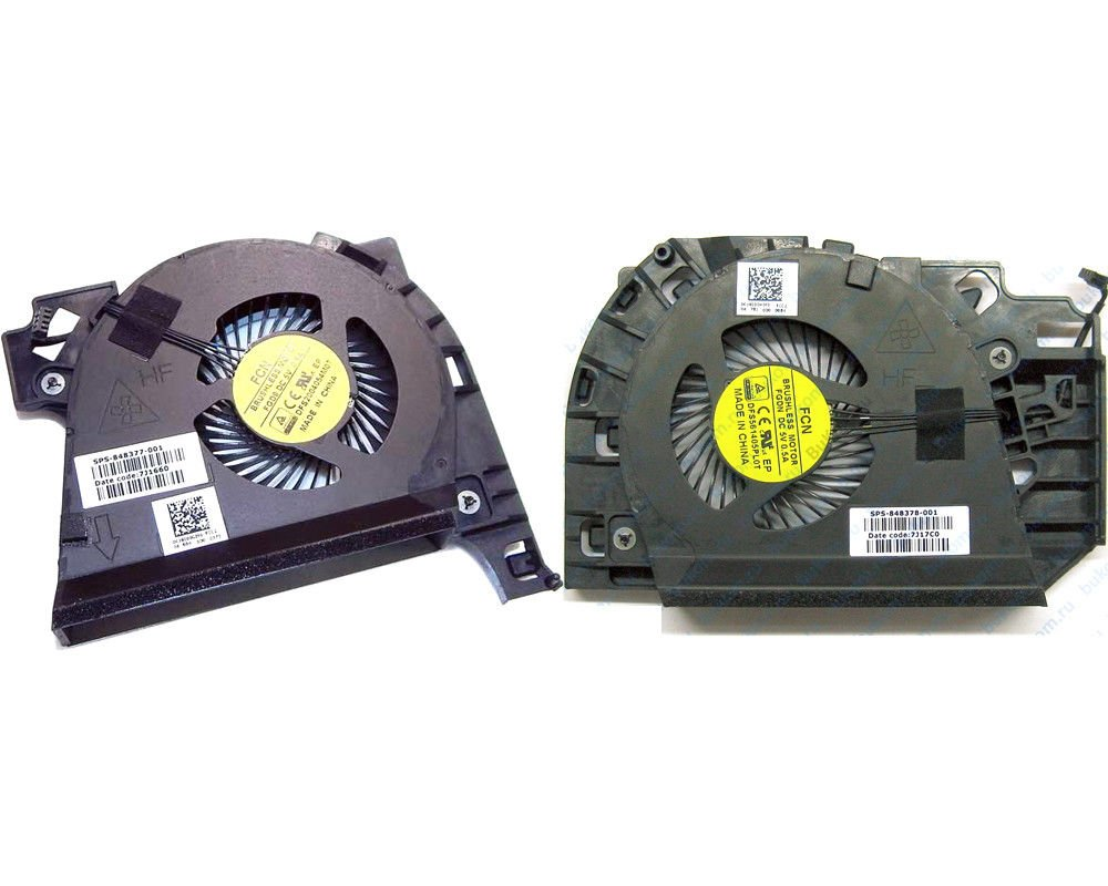 New Genuine Fan For HP ZBOOK 17 G3 Series Laptop CPU and VGA Fan 848377-001 848378-001