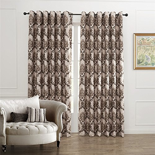 iyuego-country-fancy-floral-arabesque-jacquard-energy-grommet-top-curtain-draperies-with-multi-size-
