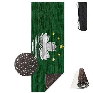 Amazon.com: Bandera de Macao Textura de Madera ECO Aqua ...