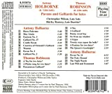 Holborne, Robinson: Pavans and Galliards