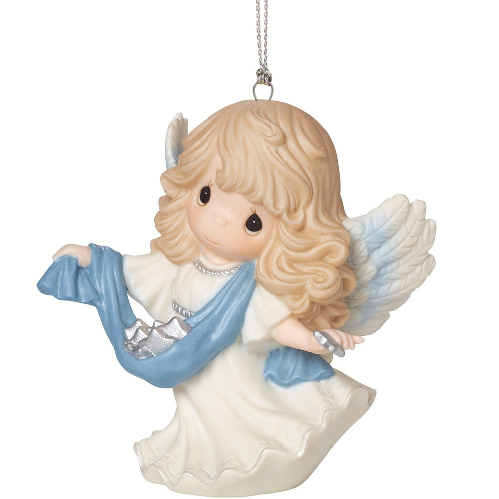 angel ornaments Christmas tree Precious Moments