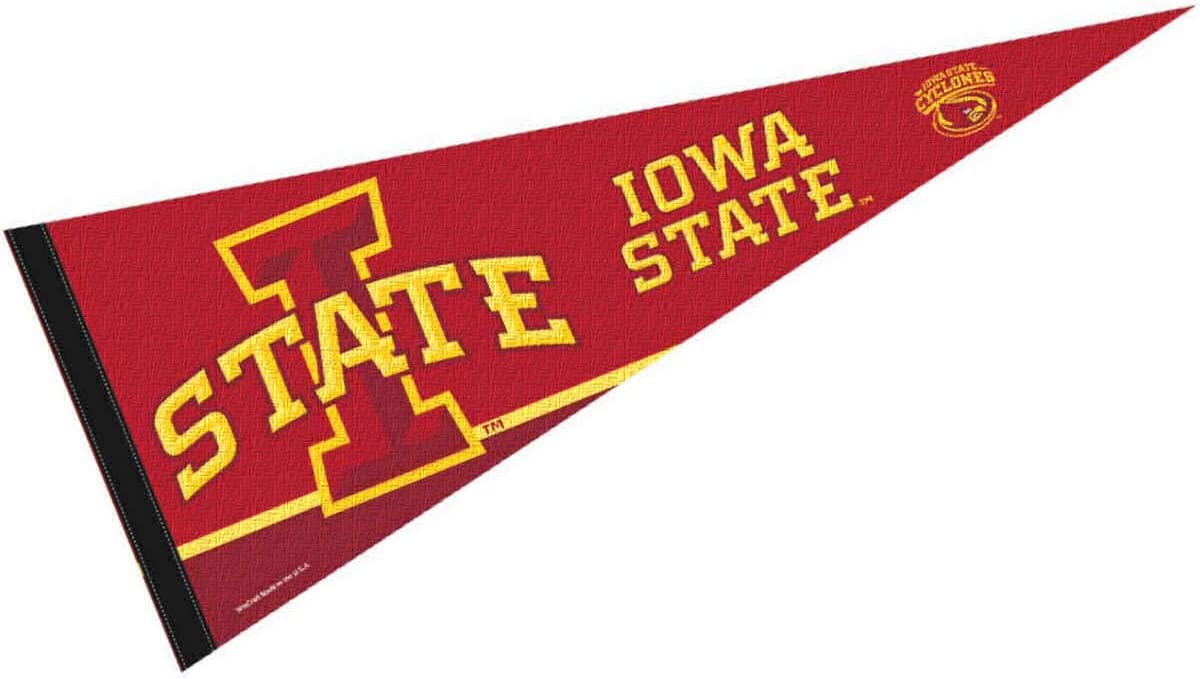 College Flags & Banners Co. Iowa State Cyclones Pennant Full Size Felt