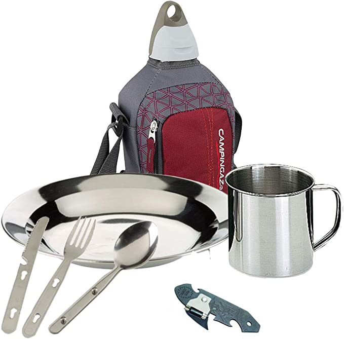 Set para Comer Camping Acampada Bricolemar Picnic Set ...