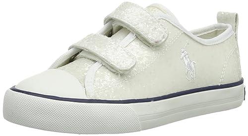 Polo Ralph Lauren Harbour Low Ez 991030 - Mocasines, color blanco, talla 28: Amazon.es: Zapatos y complementos