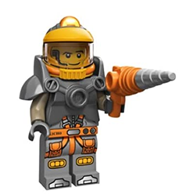 LEGO Series 12 Collectible Minifigure 71007 - Space Miner: Toys & Games
