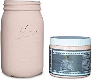 Chalky Chicks | Chalk Finish Paint | Perfect for Furniture, Cabinets, Home Decor, & DIY Craft Projects | 16 oz | Paris Pink
