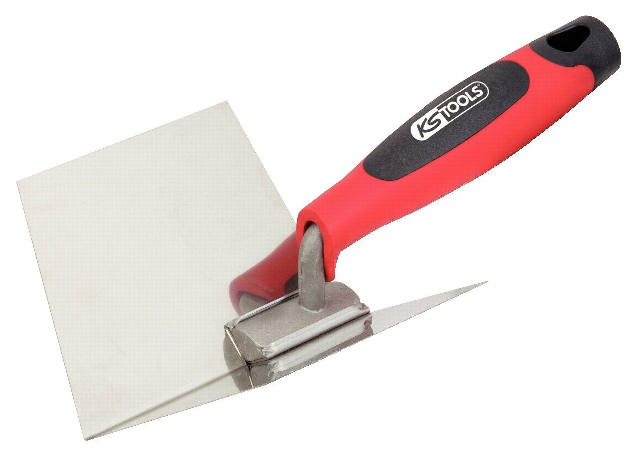 KS Tools 144.0240 Edelstahl Innen-Eckenkelle, 125mm KS-Tools Werkzeuge-Maschine 4042146161142