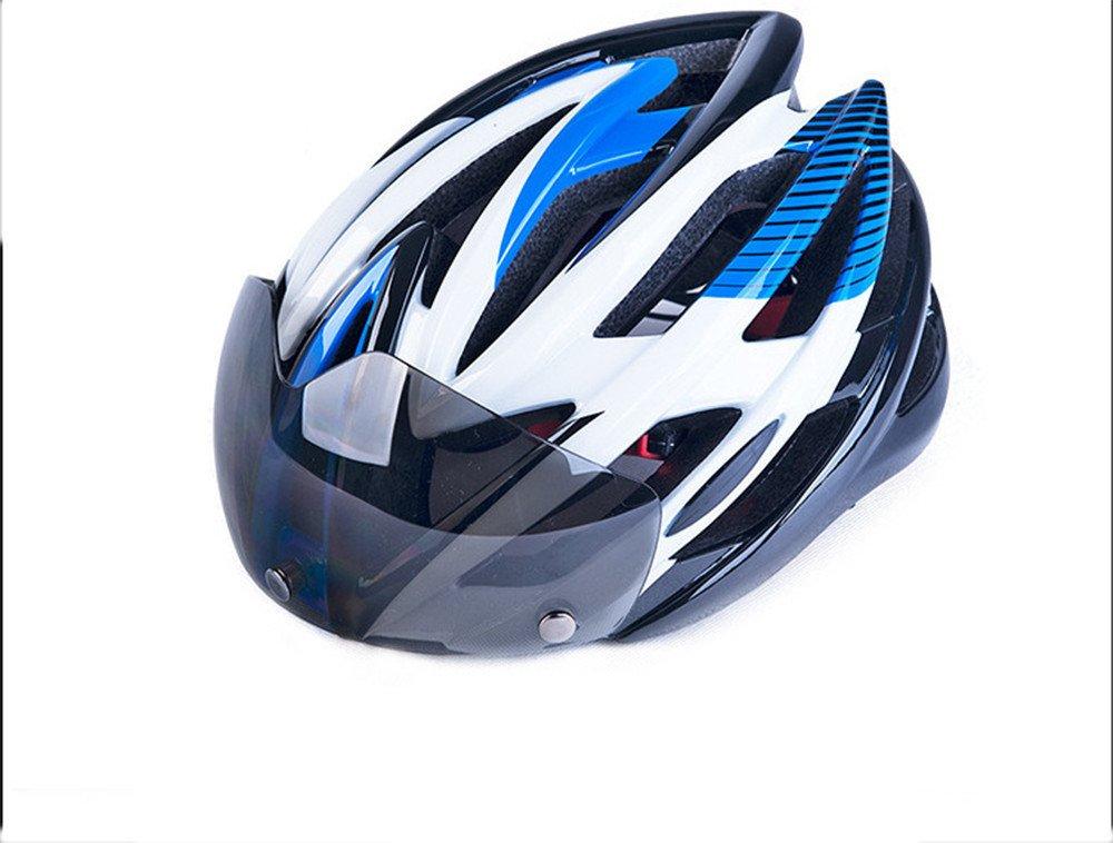 DESESHENME Fahrradhelm Ultralight MTB Fahrrad Motorrad Helm Männer Frauen Integral Geformten EPS Fahrrad Zubehör Einteilige Helm mit Schutzbrille