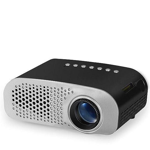 Proyector Mini proyector LED portátil proyector de vídeo lumen 100 ...