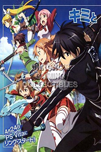 CGC Huge Poster -Sword Art Online Sao Anime S?do ?to Onrain