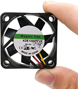 KDE1204PFVX 11.MS.AF.GN Cooling fan with 12V 1.8W 404010mm For Video card 3 wire switch heat sink fan
