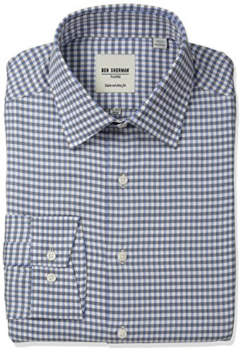ben-sherman-mens-slimg-fit-check-spread-collar-dress-shirt-multi-155-neck-32-33-sleeve