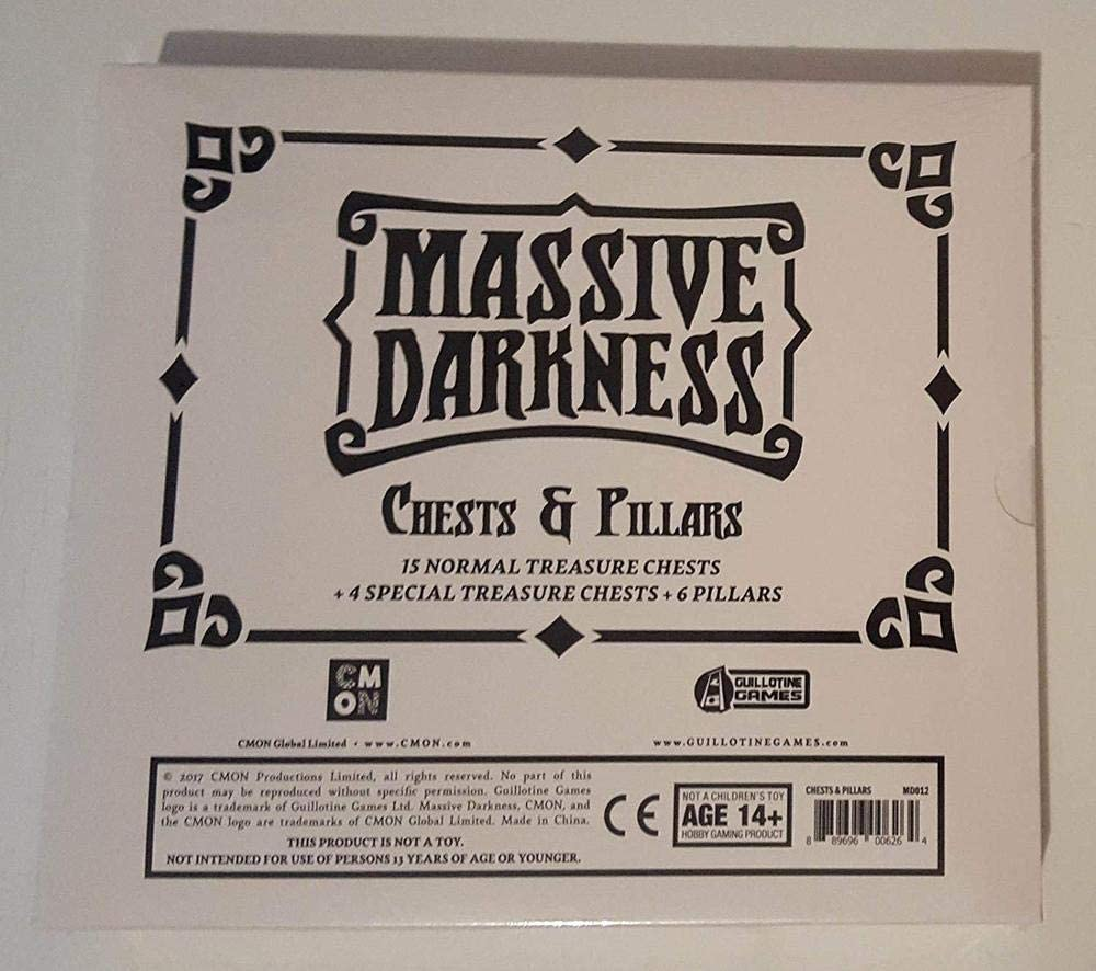 Massive Darkness - Chests & Pillars: Amazon.es: Juguetes y juegos