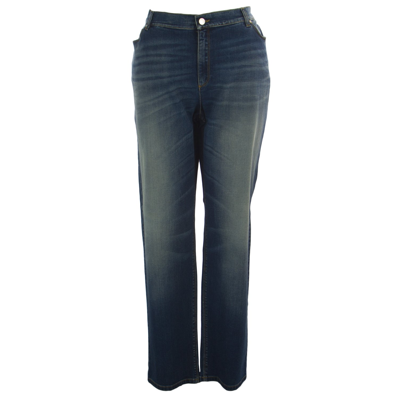 Marina Rinaldi Women's Idroforo Original Slim Jeans 22W / 31 Medium Blue