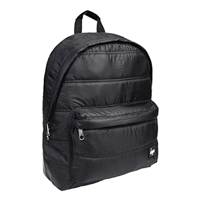Hype Quilted Backpack (Black): Amazon.co.uk: Shoes & Bags : black quilted rucksack - Adamdwight.com