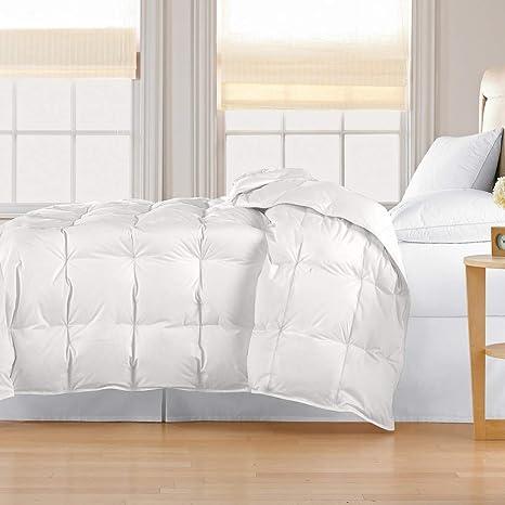 14e5431637839 1 Piece King Cream White Thread Count Light Weight All Season Down  Comforter