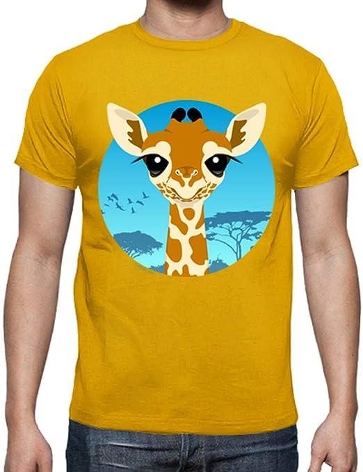 latostadora - Camiseta Jirafa Bebe para Hombre: Amazon.es: Ropa y ...