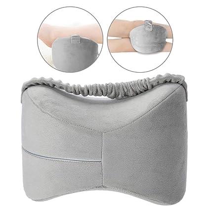 Almohada de espuma de memoria para la rodilla con correa ...