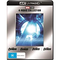 Avengers - 4 Film 4K Collection (The Avengers/Age of Ultron/Infinity War/Endgame)
