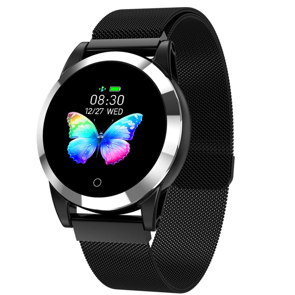 Opef R19 High Qality Waterproof Smart Watch, Sports Fitness Calorie Tracker, Activity Heart Rate Monitor for Android and iOS (C) by Opef