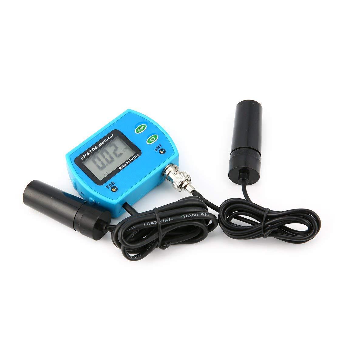 2 EN 1 de Pureza Portátil PH TDS Meter Digital Water Tester Analyzer Tool Detector para Laboratorio de Biología Fish Tank Acuario: Amazon.es: Bricolaje y ...