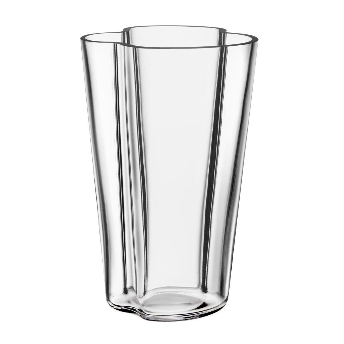 Iittala Alvar Aalto Collection Glass Vase 220 mm Clear 1024738