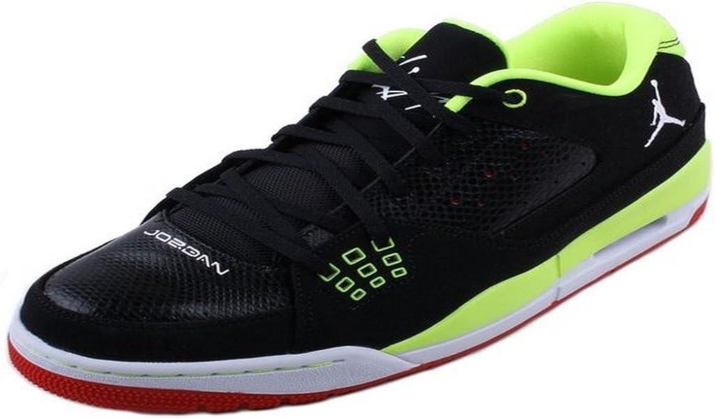 Jordan SC-1 Low 599929 045 black// white// red// volt size 8.5