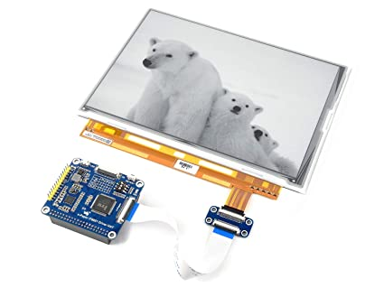Amazon Com Waveshare 9 7 Inch E Paper Display Hat 1200x825