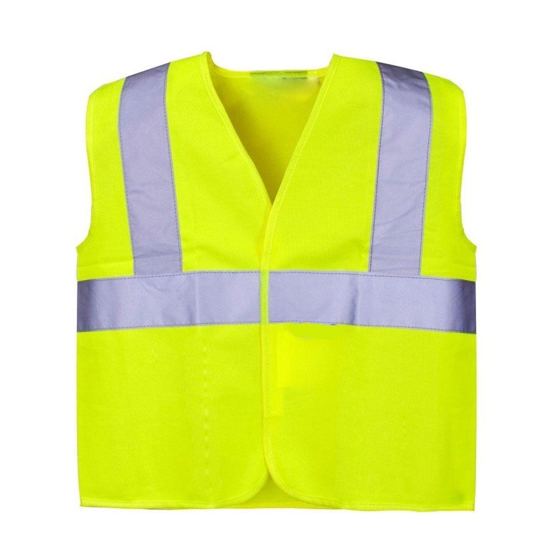 Rimi Hanger Children High Vis Junior Safety Sleeveless Reflective Vest 4-12 Y