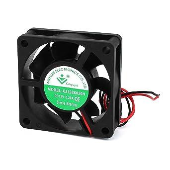 DC 12V 0.2A 2 cables manga Teniendo caja de la PC CPU refrigerador ...