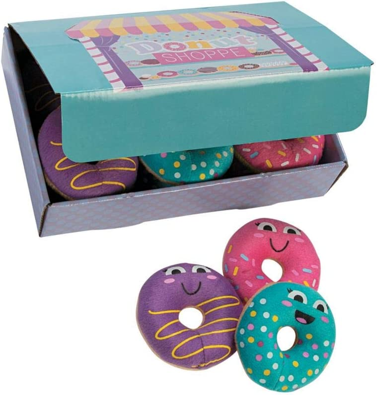 PLUSH DONUTS W/ BOX - Toys - 12 Pieces