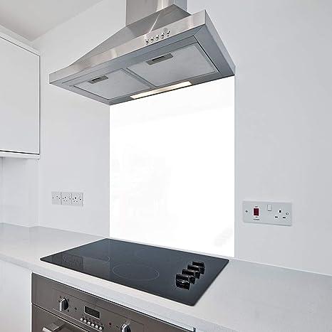 Toughened Sage Kitchen Glass Splashback 10 x 10cm Sample - No Fixing