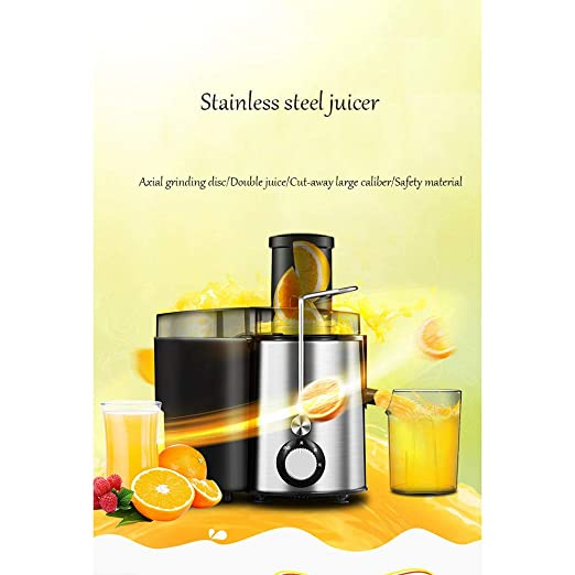 Dapang Exprimidor eléctrico Big Mouth Juice Extractor, 250 ...