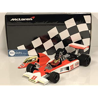 "Minichamps 530761831"" Mclaren Ford M23 James Hunt South African GP 1976"" Die-Cast Model, 1:18 Scale: Toys & Games"