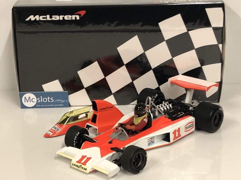 1:18 Minichamps McLaren Ford M23 GP  Africa World Champion Hunt 1976