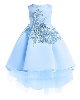 bb76090e20f80 KELUOSI Filles Robe de Soirée de Mariage Demoiselle Pageant Robes de  Princesse Robe Enfants Princesse Robe