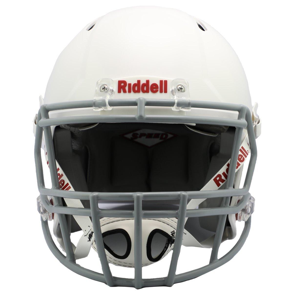 White//Gray Riddell Speed Youth Football Helmet Small