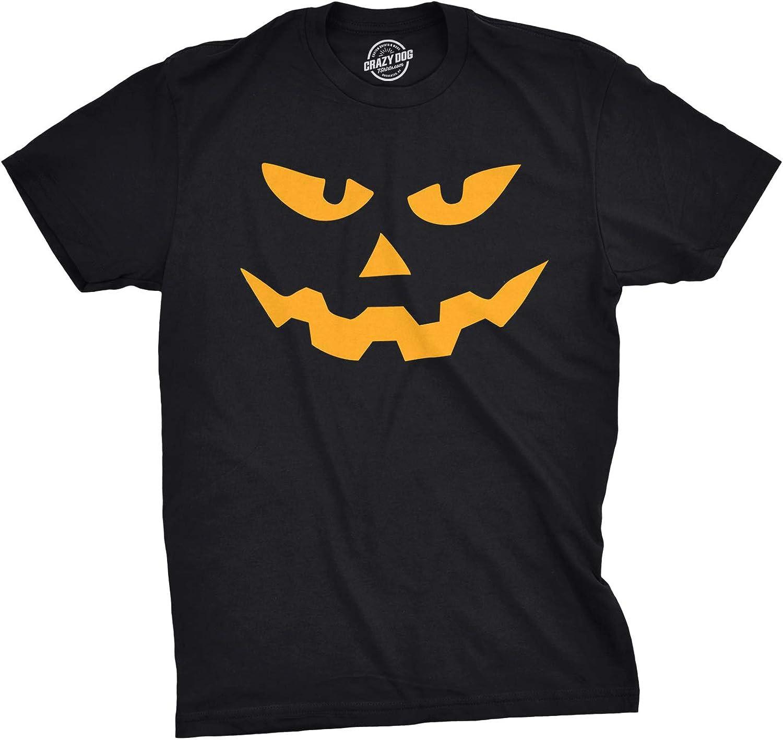 Triangle Pumpkin Emoticon Sarcastic Humor Graphic Novelty Funny T Shirt