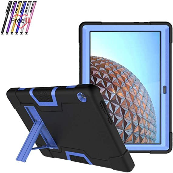 Yudesun Case for Lenovo Tab E10 Stand Silicone Soft Skin Shockproof Protective Cover Case for Lenovo Tab E10 TB-X104F 10.1 inch Tablet