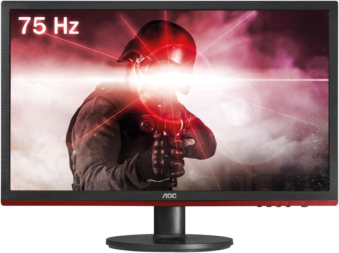 AOC g2260Vwq6 Widescreen LED Black Red Monitor 1920x1080 1ms VGA HDMI
